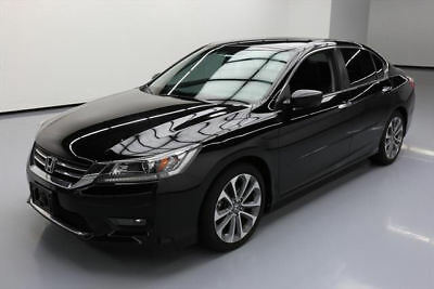 2014 Honda Accord Sport Sedan 4-Door 2014 HONDA ACCORD SPORT SEDAN 6-SPD REAR CAM ALLOYS 52K #122017 Texas Direct