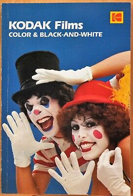 KODAK FILMS Color & Black and White AF-1 129 Pages PLUS 42 Pages of Data Sheets