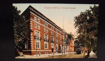 Toronto Canada Central YMCA WWII Era Postcard Consumptives Slogan Admiral Iss