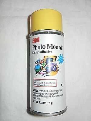 3m Photo Mount Spray Adhesive 423oz New 399 Picclick