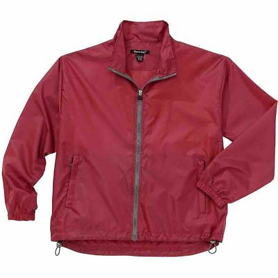 Rivers End Lightweight Full Zip Jacket Red - Mens  - Size Xl
