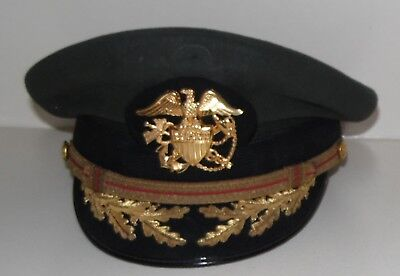 "Art Caps Captain Navy Officer Military Cap Hat 7"" Public Health Officer Badge"