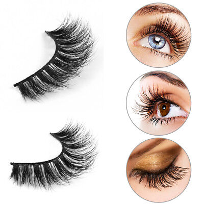 Mink Lashes Magnetic 3D Eyelashes Handmade Natural False Long Eye Lash Reusable