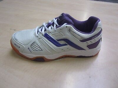 Pro Touch Indoor Schuh Rebell W Gr. 42  FB  White-Purple  UVP 34,95 €