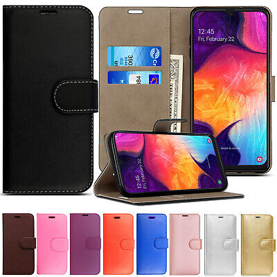 Case For Samsung Galaxy Phones S10 S9 S8 Cover Genuine Leather Flip Stand Wallet
