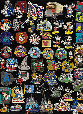#02 Disney Pin Pins Walt Disney World, Disney Land Choose: Mickey Mouse