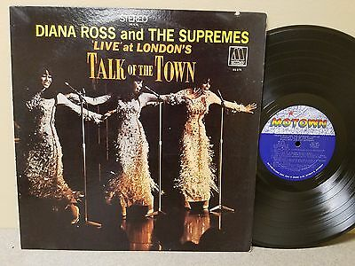 Diana Ross And The Supremes Talk Of The Town LP 1968 Motown Records MS-676 1st