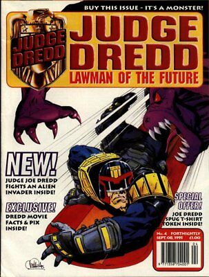 JUDGE DREDD - LAWMAN of the FUTURE - Issue 4 (2000AD) 1995 - VGC
