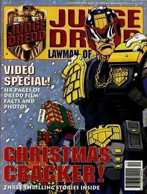 JUDGE DREDD - LAWMAN of the FUTURE - Issue 12 (2000AD) 1995 - VGC