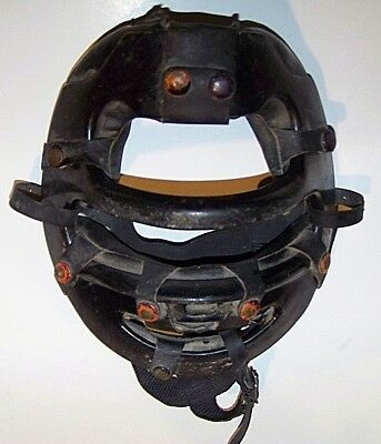 Vintage Rawlings Catchers Umpire Face Mask Baseball Aluminum Umpire Pre-owned