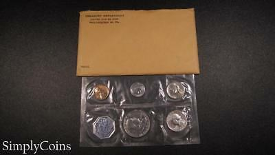 1960 Proof Set ~ Original Envelope With COA ~ US Mint Silver Coin Lot SKU-956