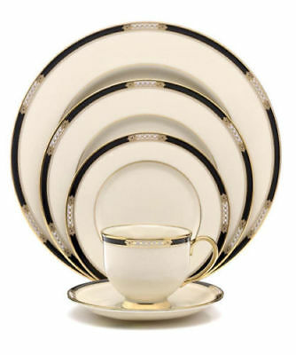 Hancock 60pc Service for 12 Lenox China Dinner Set