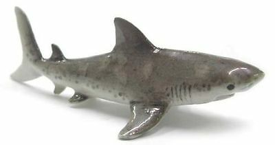 NORTHERN ROSE Porcelain Figurine GREAT WHITE SHARK Sculpture Statue OCEAN FISH