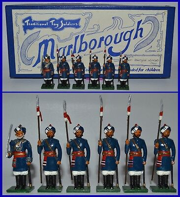 """Marlborough Traditional Toy Soldiers """"M-17 - 15th Bengal Lancers, 1900""""    *S/2*"""