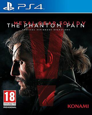 PS4 Game Metal Gear Solid V 5 - The Phantom Pain NEW