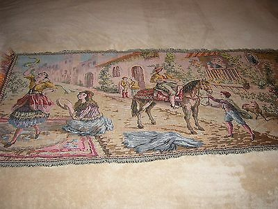 """""""""""reinassance Design - Vintage Woven Tapestry"""""""" - Made In Italy"""