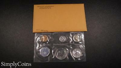 1960 Proof Set ~ Original Envelope With COA ~ US Mint Silver Coin Lot SKU-1054