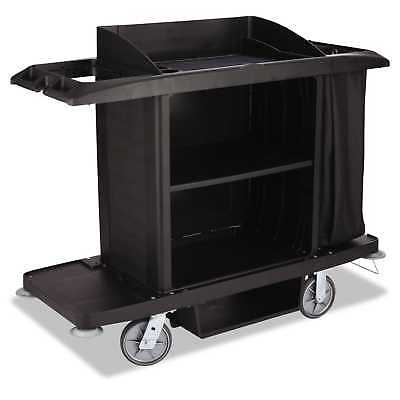 Rubbermaid Commercial Housekeeping Cart 22-inch wide x 60-inch deep x 50-inch