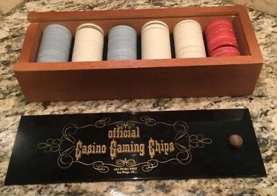 Vintage 150 Official Casino Gaming Chips Las Vegas West San Diego Ca.