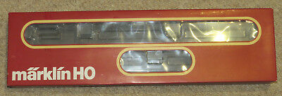 Marklin 2858 Train set with V36 & Red 'Thunder boxes'. Empty box only