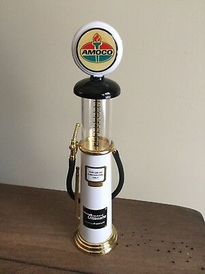 Amoco Oil Company Vintage Gas Pump Model - Near Mint