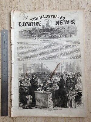 Charles Dickens - The Illustrated London News. Saturday March 19 1870. Rare.