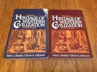 Heritage of Western Civilization Volumes 1 & 2 by John Beatty