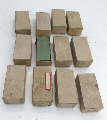Huge Lot 12 Boxes of Vintage Blank Microscope Glass Slides
