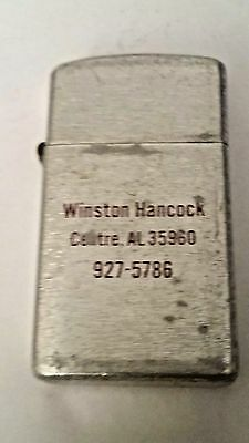 Vintage Park Lighter as- Winston Hancock, Center AS 35960, Works, Made in USA