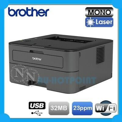 Brother HL-L2305W Mono Laser Wireless Printer+Mobile Print TN-2330 *Damaged Box*