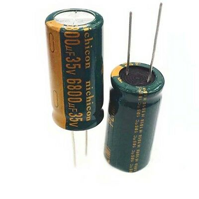 6.3V-450V 22uF-10000uF High Frequency LOW ESR Radial Electrolytic Capacitor 105C