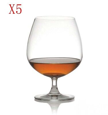 New 5X Capacity 340ML  Height  150MM  Transparent  Red Wine Glass/Glassware %