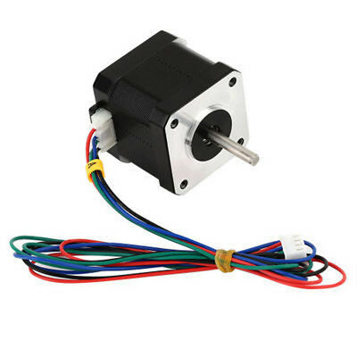NEW CNC 1.8Degree NEMA17 1.7A 40mm 2Phase 4Lead Stepper Motor For 3D Printer