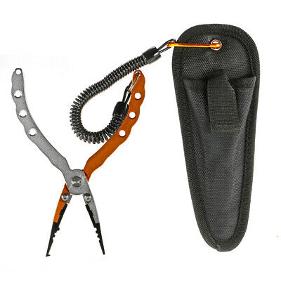 "Aluminum 7.09"" Fish Plier Fishing Pliers Tackle Tool -Perfect Low Profile POP"
