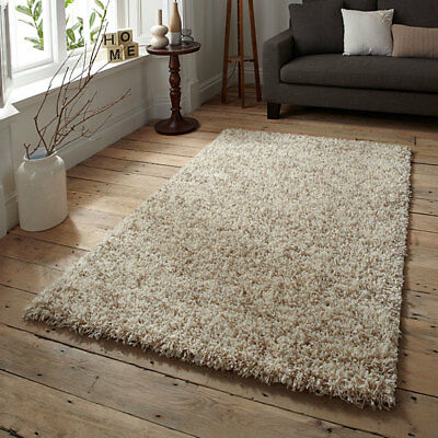 Think Rugs Vista 4803 Shaggy Runner, Cream, 60 x 220 Cm