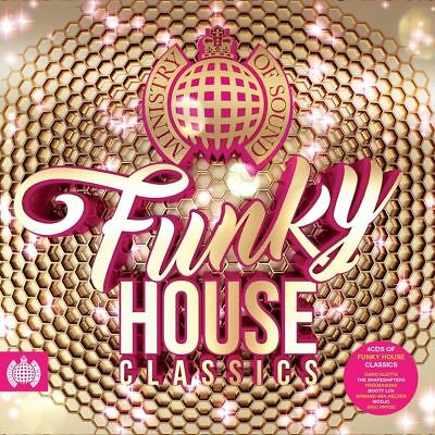FUNKY HOUSE CLASSICS (Ministry of Sound) 4 CD SET (2018)