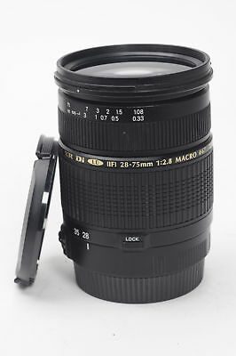 Tamron A09 AF 28-75mm F2.8 SP XR Di LD ASPH IF Macro Lens Canon EF          #823