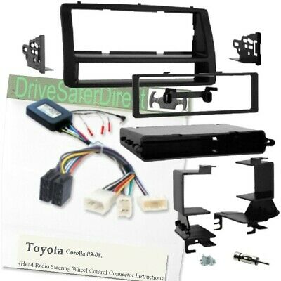ISO-JOIN for unbranded Radio//Toyota Corolla 01-11 SWC-7650-02J Stalk Adaptor