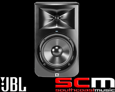 """JBL LSR308 8"""" Two-Way Powered Studio Monitor Active Speaker Pro Reference  - NEW"""