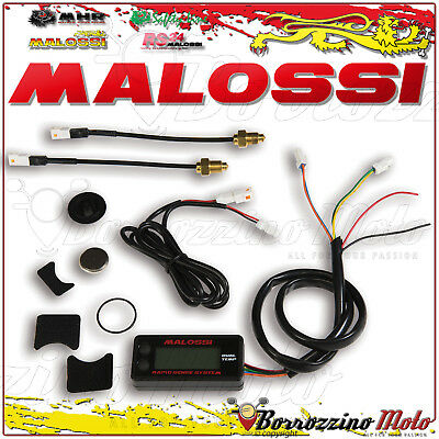 MALOSSI 5817491B RAPID SENSE SYSTEM DUAL TEMP METER MALAGUTI FIFTY TOP 4marce 50