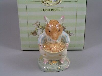Royal Doulton Brambly Hedge Dustys Buns Figurine, Dbh51, Boxed