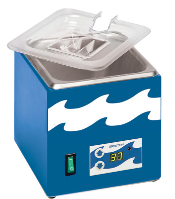 "EDVOTEK #539 - 1.8 L Digital Water Bath (5.5 x 6 x 4"" Chamber) - NEW!"