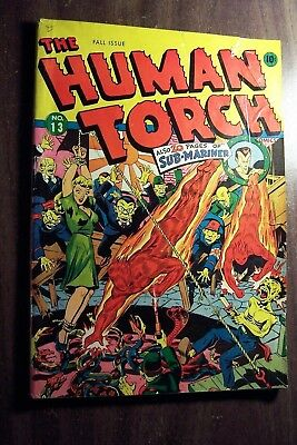 The Human Torch Comic Book #13 Fall 1943