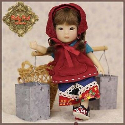 Ruby Red Galleria  Hc0055A Twins Workcloth Outfit For Yu Ping Or Tanghulu