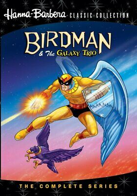 Hanna-Barbera Classics: Birdman & The Galaxy Trio: Complete Series 2 Discs 1967