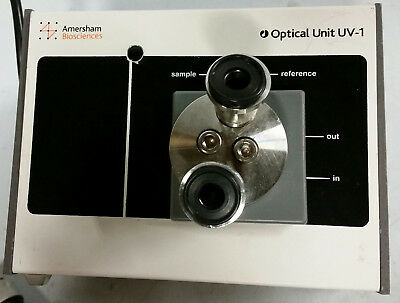 Amersham UV-1 Optical Unit Industrial flow cell with Tri-Clamp connectors
