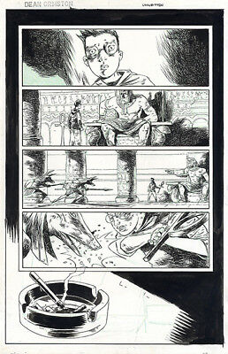 DEAN ORMSTON The Unwritten ORIGINAL COMIC ART Peter Gross