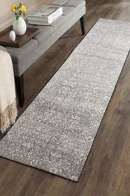 Hallway Runner Hall Runner Rug Modern Grey Cream 3 Metres Long Premium Edith 252