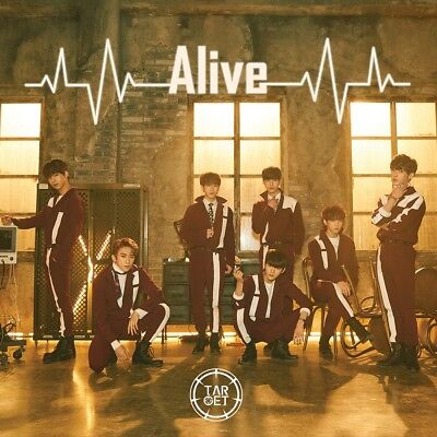 TARGET - Alive (1st Mini Album) CD+Photobook+Photocard+Tracking no