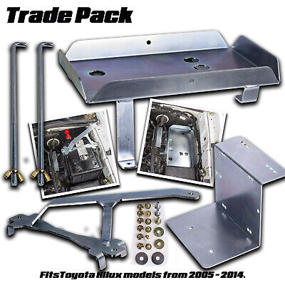 Dual Battery Tray System Toyota Hilux 3L D4D V6 2005 - 2014 Wbty001 Trade Pack